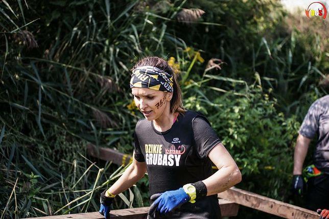 Agnieszka wzięła udział w biegu z przeszkodami