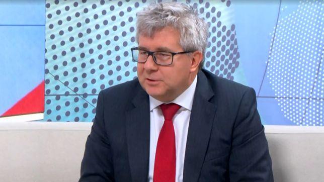 #dzieńdobryWP Czarnecki do Thun: nie będę się zniżał to tego języka nienawiści. O co poszło?