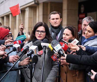 Aleksnadra Dulkiewicz podziękowała za głosy, dzięki którym została wybrana prezydentem Gdańska