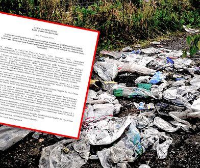 Śmieci w Woli Suchożebrskiej są uciążliwym problemem