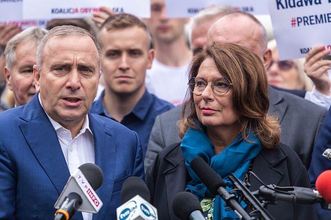 Wybory parlamentarne 2019. Ankietowani są zadowoleni ze zmiany Grzegorza Schetyny na Małgorzatę Kidawę-Błońską
