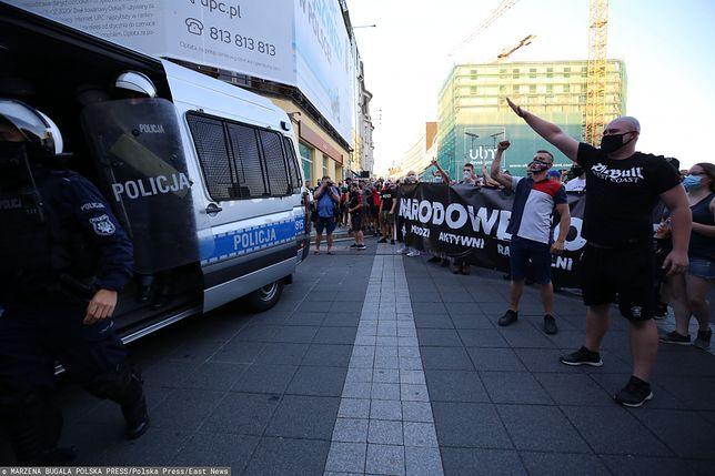 Katowice: Demonstracja nacjonalistów. Mocny komentarz Muzeum Auschwitz