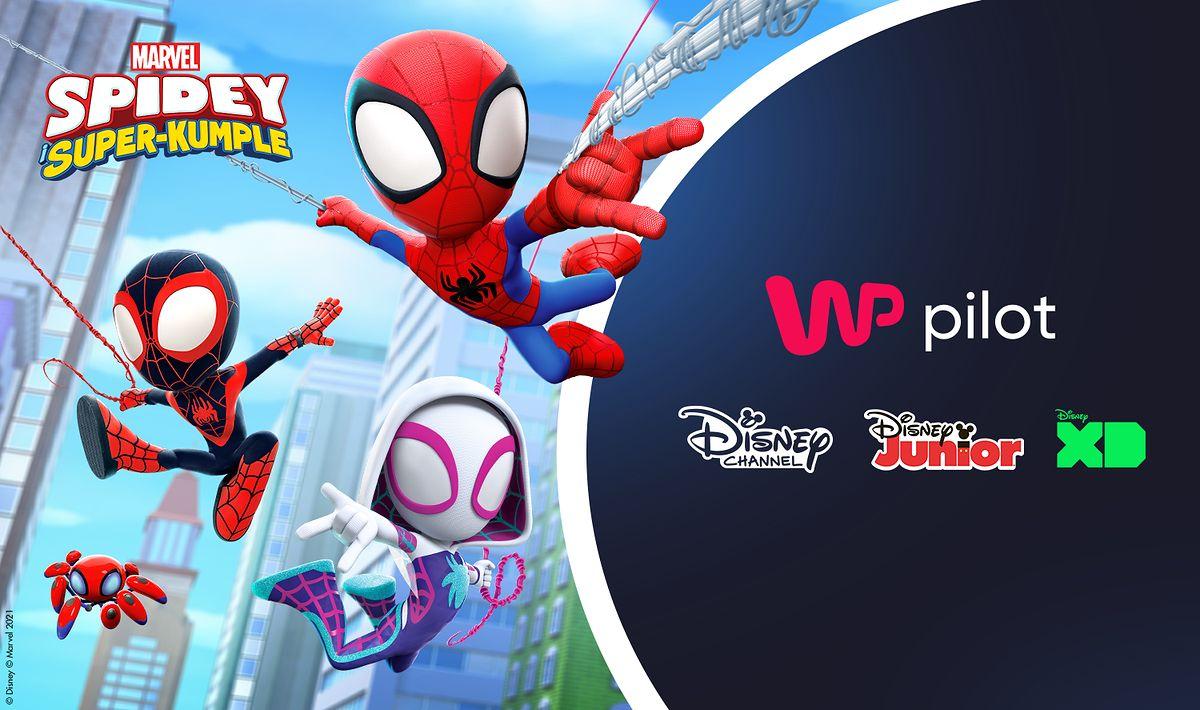 Nowa oferta kanałów Disneya w WP Pilot