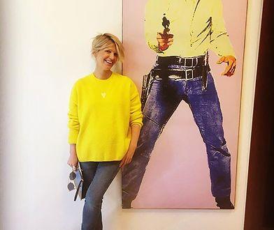 "Magda Mołek z Elvisem Presleyem - swoim ""nowym bodyguardem"""
