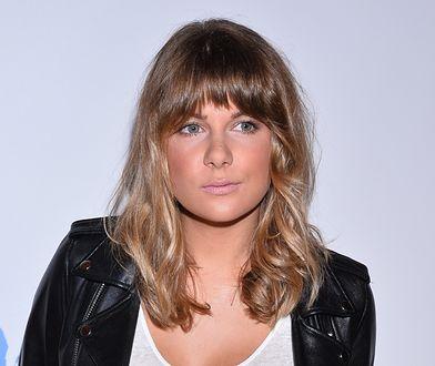 Marta Wierzbicka stawia na naturalny kolor włosów