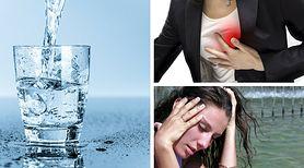 Zbyt mała ilości przyjmowanych płynów może prowadzić do zawału lub zaburzeń pracy nerek. Jak prawidłowo nawadniać organizm?