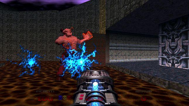 Doom 64 to zupełnie nowa gra, przygotowana specjalnie na Nintendo 64, fot. Bethesda