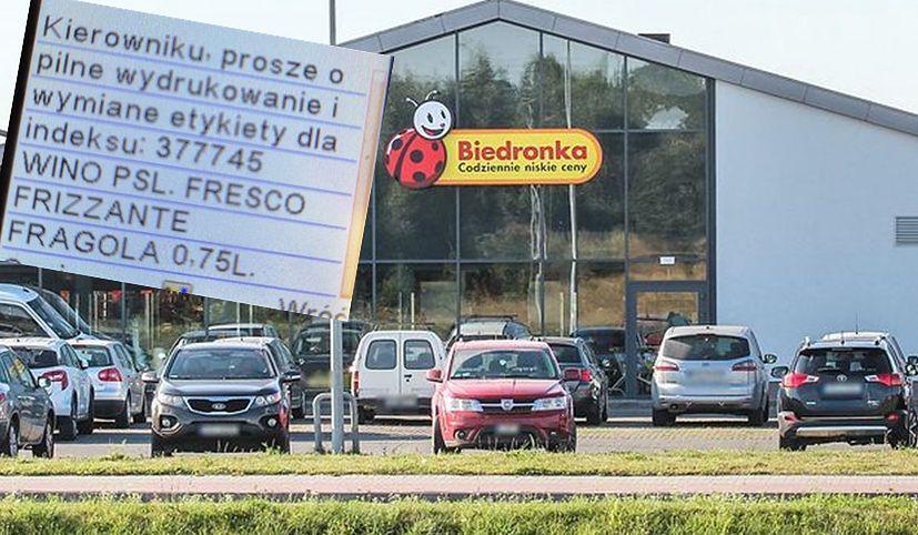 """Pracownicy sieci sklepów Biedronka alarmowali pilną potrzebę zmiany """"cenówki"""""""