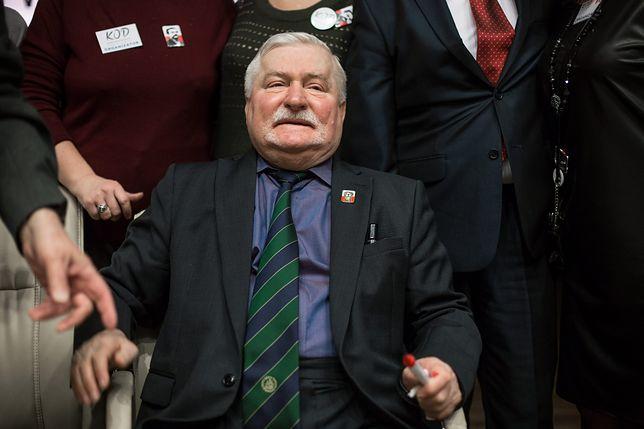 Lech Walesa odpowiedział na apele Polaków