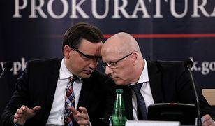 Minister Zbigniew Ziobro i prokurator Krzysztof Sierak
