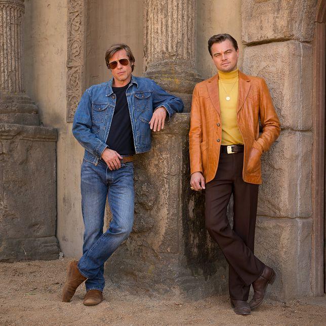 """Pitt i DiCaprio w filmie Tarantino. Jest plakat """"Pewnego razu w Hollywood"""""""
