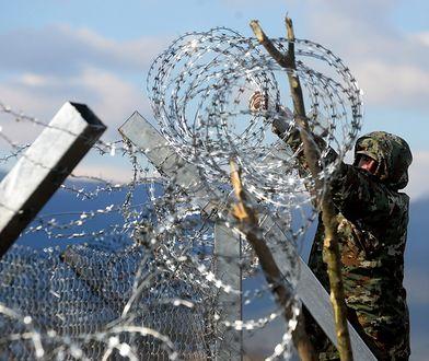Na granicy między Chorwacją i Słowenią od 2015 roku stoi płot graniczny