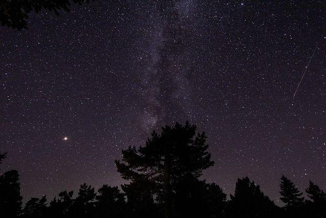 Perseidy 2020. Noc spadajacych gwiazd