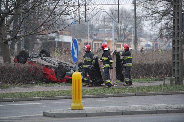 Straszne skutki wypadku w Kamieniu Pom. - zdjęcia
