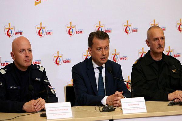 Błaszczak o przebiegu ŚDM: W Europie są zamachy, Polska jest bezpieczna