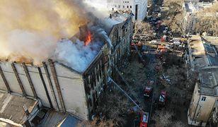 Odessa. W pożarze zginęło 10 osób.