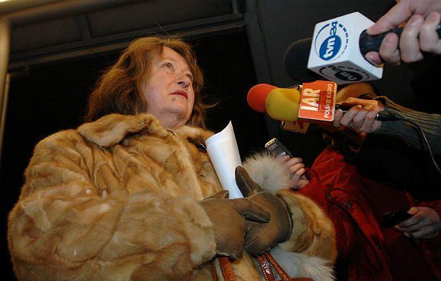 #dziejesienazywo: Janina Goss w zarządzie PGE. Michał Krzymowski: to śmieszne. Ta pani daje znajomym kasztany na reumatyzm