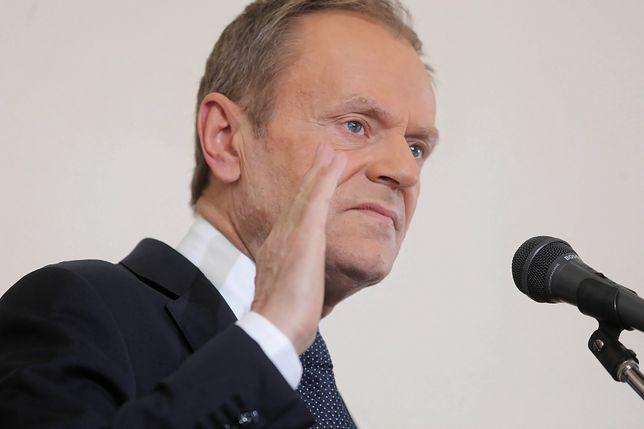 Wybory prezydenckie 2020. Donald Tusk o PiS: klęska żywiołowa