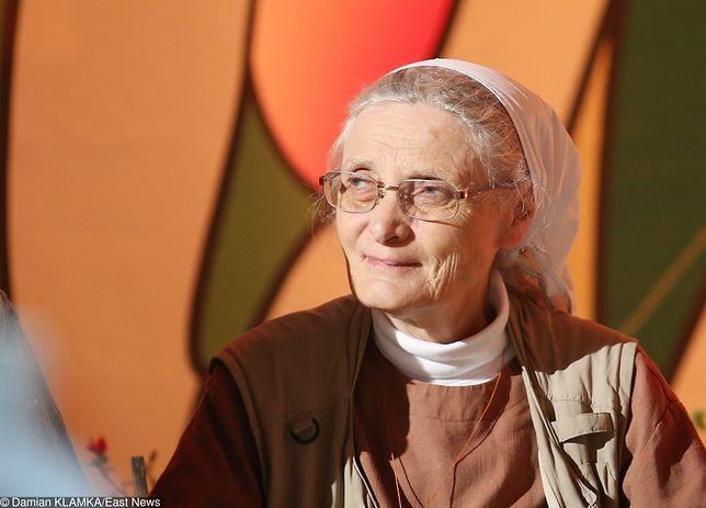 Siostra Małgorzata Chmielewska prosi Jerzego Owsiaka, aby nie rezygnował z kierowania fundacją WOŚP