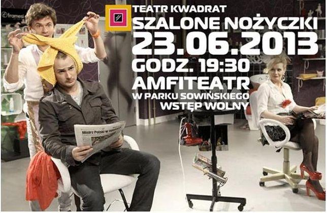"""Za darmo: """"Szalone nożyczki"""" - spektakl Teatru Kwadrat"""