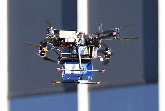 Dron medyczny przeleci nad Warszawą za kilka tygodni