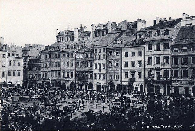Warszawa w 1880 roku [ZDJĘCIA]