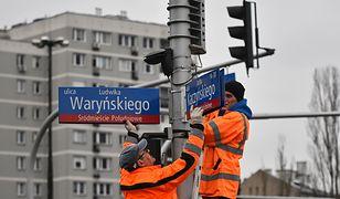 Jedna z najpopularniejszych ulic w stolicy zmieniła nazwę. Już nie znajdziesz tabliczki al. Armii Ludowej