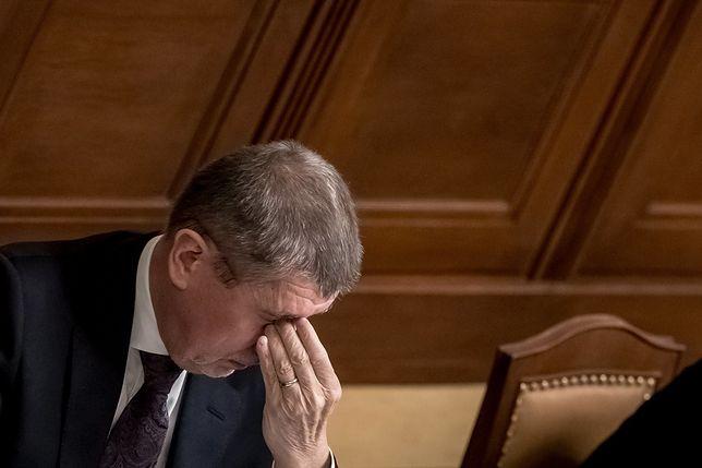 Czeski premier stracił immunitet. Jest podejrzany o wyłudzenie dotacji z UE