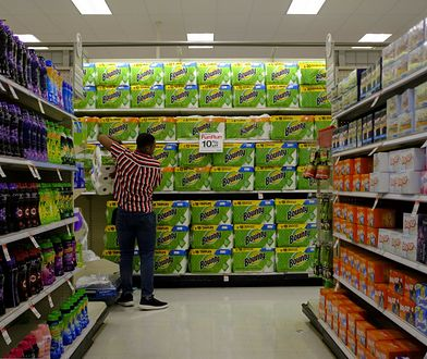 Koronawirus w USA. Limit na zakup papieru toaletowego w sklepach