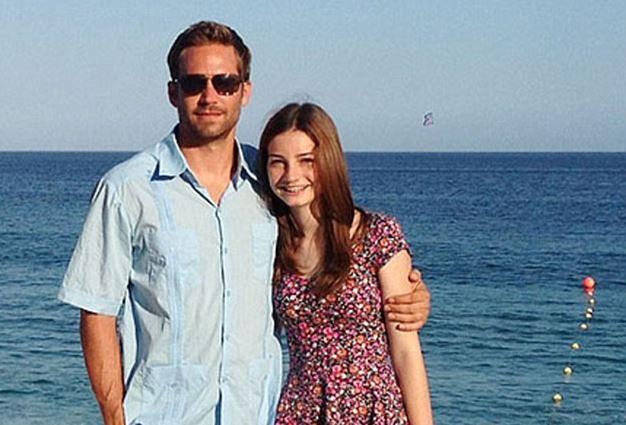 Paul Walker i jego córka Meadow