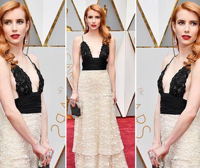 Emma Roberts w sukni Armani Prive vintage