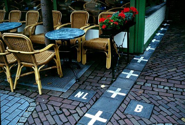 Nietypowe granice pomiędzy państwami - Holandia-Belgia