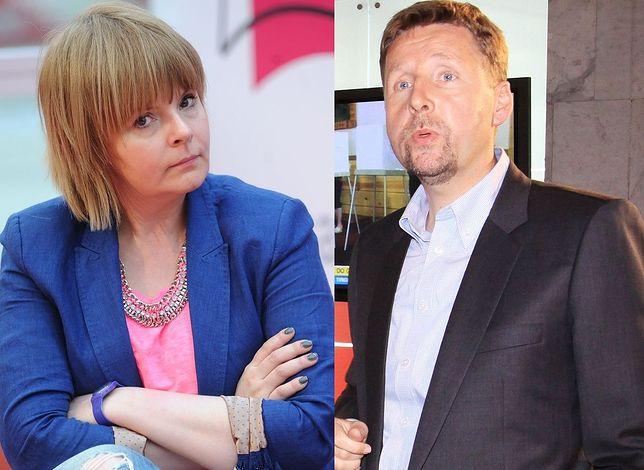 Karolina Korwin-Piotrowska i Marek Migalski