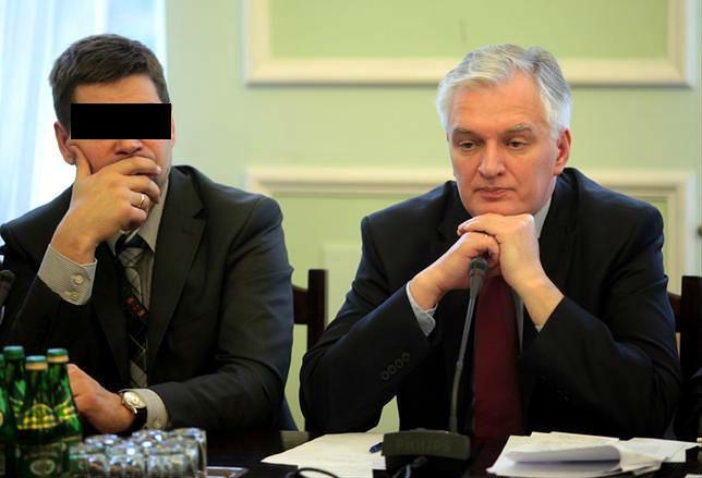 Styczeń 2012 r. Wiceminister Michał K. i jego ówczesny szef minister sprawiedliwości Jarosław Gowin na posiedzeniu sejmowej komisji