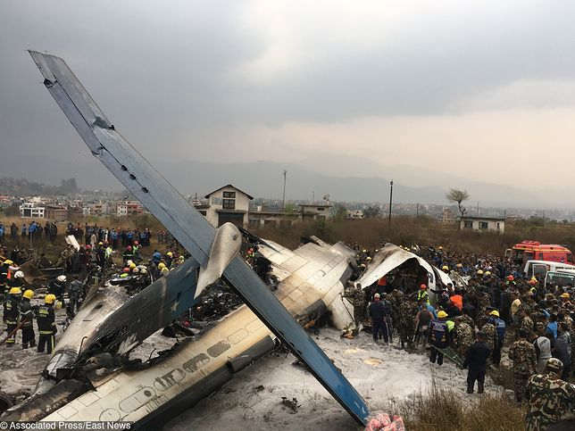 W Nepalu rozbił się samolot