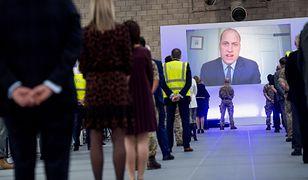 Książę William otworzył szpital dla zakażonych koronawirusem