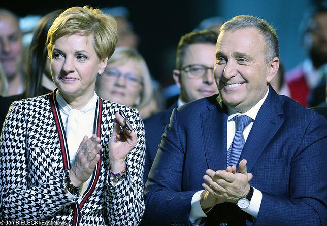 Kalina Rowińska-Schetyna i Grzegorz Schetyna