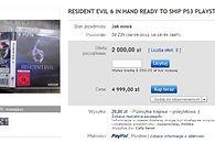 Ile tysięcy złotych jesteś w stanie zapłacić za zagranie wcześniej w Resident Evil 6?