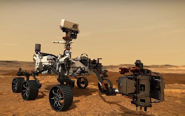 Łazik Perseverance wylądował na Marsie. Rozpoczyna się kluczowy etap misji NASA