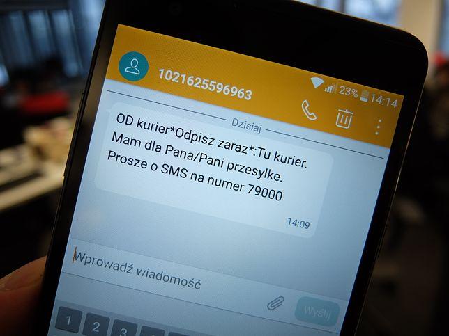 Uważaj na takie SMS-y