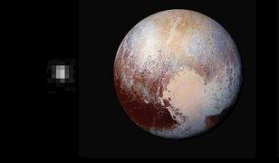 Pierwsze i ostatnie zdjęcie Plutona zapierają dech. Pokazują, jak ogromny postęp zrobiła nauka