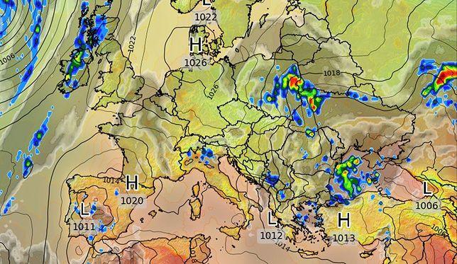 Pogoda. Burze i podtopienia. Ostrzeżenia IMGW 2. stopnia