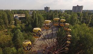 Prypeć, opuszczone miasto na Ukrainie