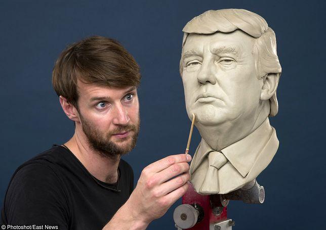 Donald Trump z wosku - nowa figura w słynnym muzeum