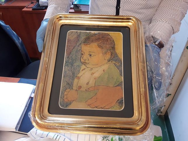 Piaseczno: Odzyskano skradziony obraz o wartości miliona złotych