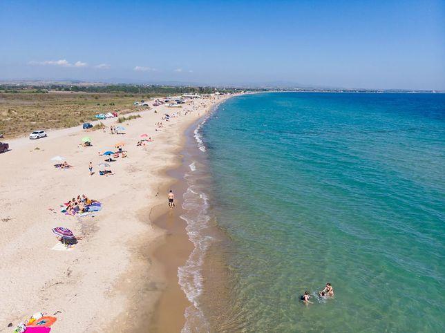 Plaża Potamos, Epanomi, Grecja