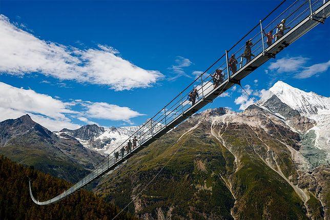 Najdłuższy na świecie most wiszący już dostępny dla turystów