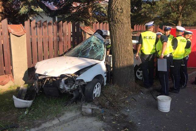 Miejsce tragicznego wypadku w Katowicach