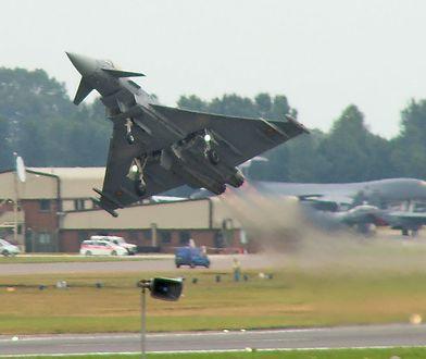 Startujący Eurofighter