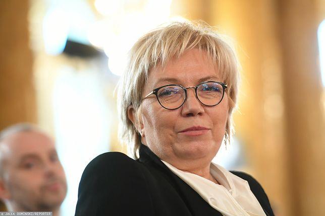 Julia Przyłębska o decyzji TK i Strajku Kobiet